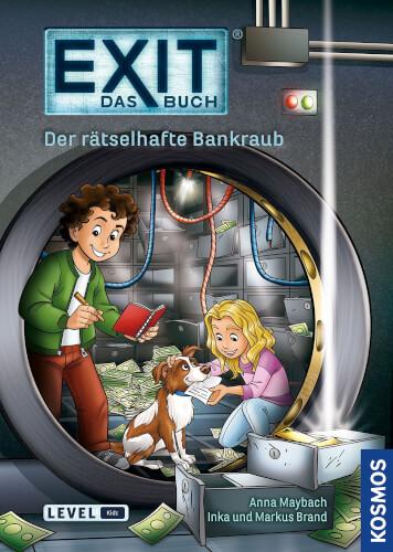 Kosmos EXIT Das Buch - Der rätselhafte Bankraub (Kids)