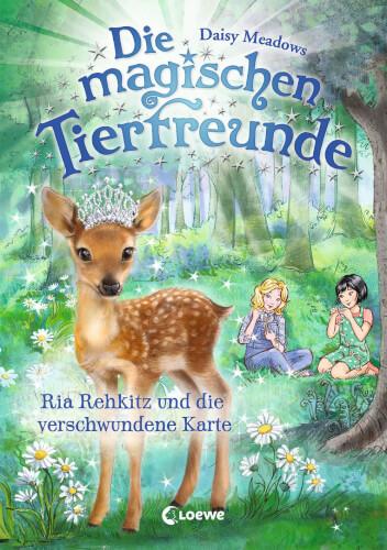 Die magischen Tierfreunde 16 - Ria Rehkitz und die verschwundene Karte
