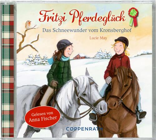 CD Hörbuch: Fritzi Pferdeglück (Bd. 5) Das Schneewunder ...