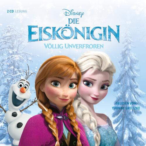 CD Disney Frozen - Dis Eiskönigin CD Das Hörbuch zum Film, 2CDs