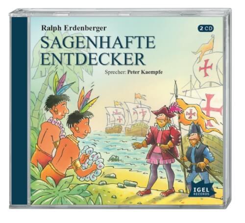 Erdenberger, Sagenhafte Entdecker 2 CD