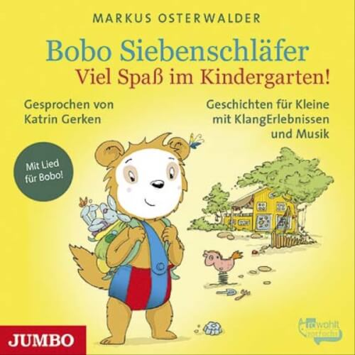 CD Bobo Siebenschläfer - Viel Spaß im Kindergarten!, 1 Audio-CD