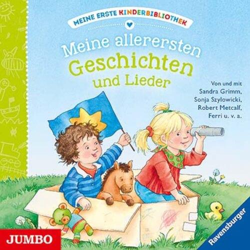 CD Meine erste Kinderbibliothek - Meine allerersten Geschichten und Lieder, 1 Audio