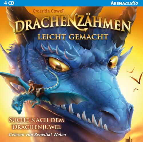 CD Cowell, Cressida: Arena audio  Drachenzähmen leicht gemacht  Suche nach dem Dr