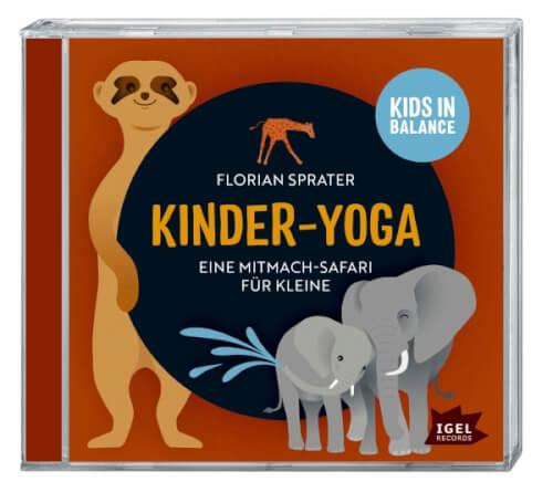 Sprater, Kinder Yoga Mitmach-Safari CD