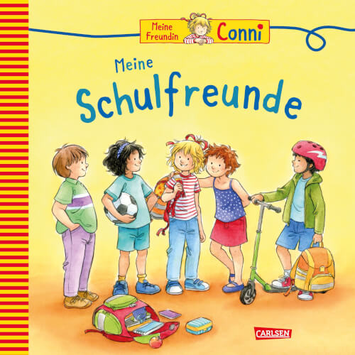 Meine Freundin Conni: Freundebuch zum Eintragen (Schule), Hardcover, 112 Seiten, ab 5 Jahre