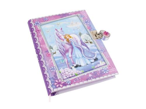 Tagebuch mit Pferdemotiv