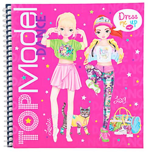 TOPModel Dress Me Up Stickerbuch DANCE