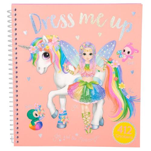 Depesche 10467 Ylvi & the Minimoomis Dress Me Up Sticker Fun
