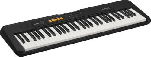Keyboard Casio CT-S100C7 schwarz, 61 Standardtasten