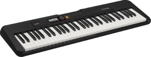 Keyboard Casio CT-S200BKC7 schwarz, 61 Standardtasten