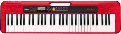Keyboard Casio CT-S200RDC7 rot, 61 Standardtasten