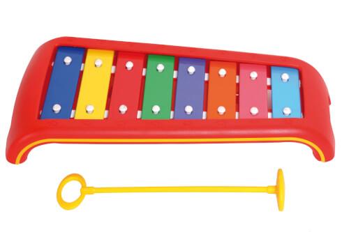Voggenreiter Kinder-Glockenspiel 8 Klangplatten