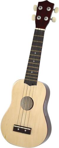Kindergitarre Holz NATUR (Ukulele)