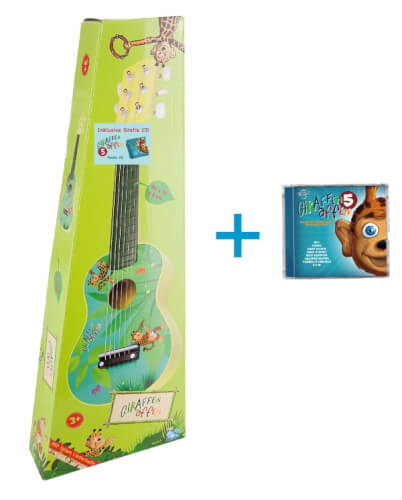 Giraffenaffen Bundle - Gitarre klein & CD 4 ''Winterzeit''