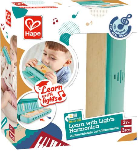Leuchtende Lern-Harmonica
