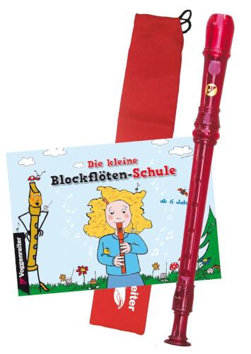 Das bunte Blockflöten-Set, barocke Griffweise