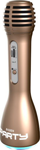 bigben - PARTY Mic [Wireless Microphone gold]