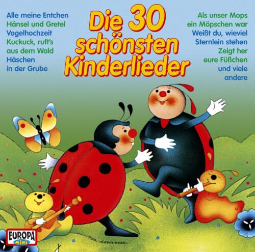 CD Die 30 schönsten Kinderlieder