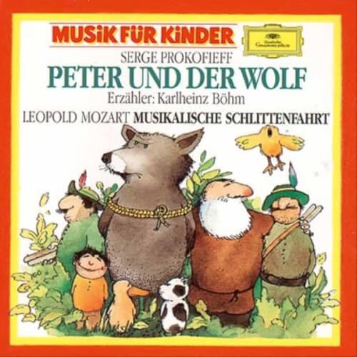 CD Peter und der Wolf