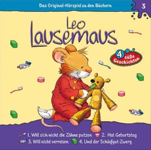 CD Leo Lausemaus: Leo will nicht Zähne putzen, Folge 3