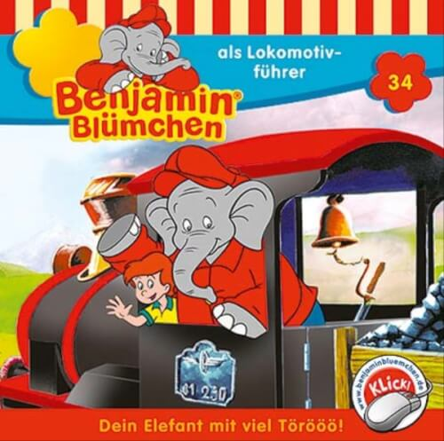CD Benjamin Blümchen 34