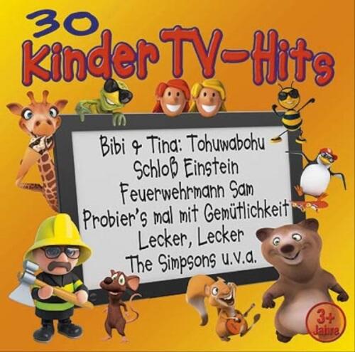 CD 30 Kinder TV-Hits