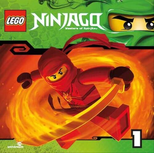 CD LEGO Ninjago: Meister des Spinjitzu, Folge 1