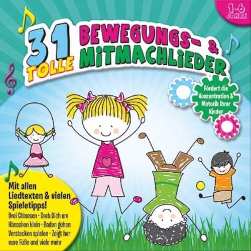 CD 31 tolle Bewegungslieder