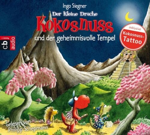 CD Der kleine Drache Kokosnuss CD der geheimnisvolle Tempel