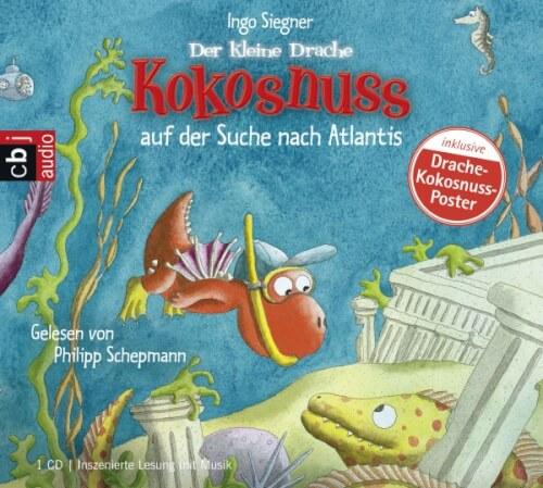 CD Der kleine Drache Kokosnuss CD - auf der Suche nach Atlantis