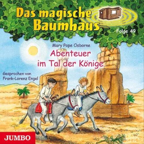 CD Das magische Baumhaus - Abenteuer im Tal der Könige, Audio-CD