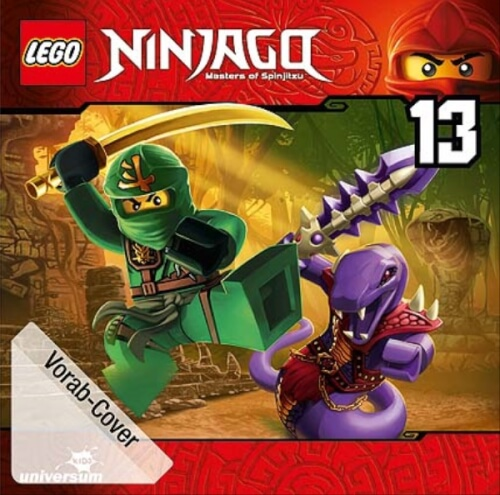 CD LEGO Ninjago 13:Einladung