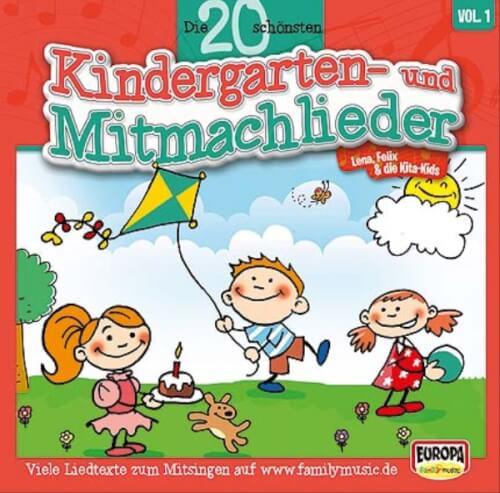 CD 20 schönsten Kindergartenlieder Lieder 1