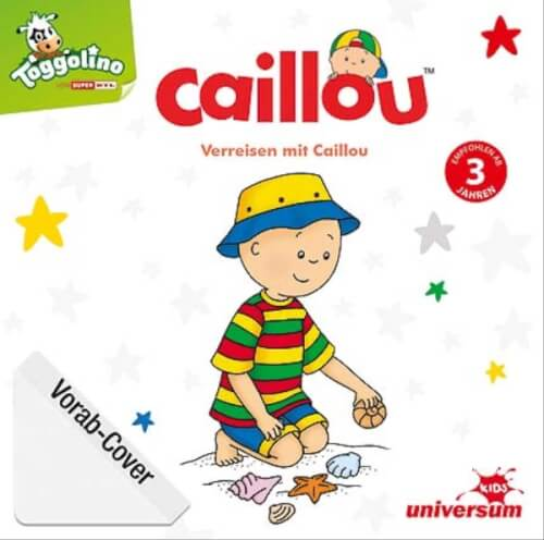 CD Caillou:Verreisen