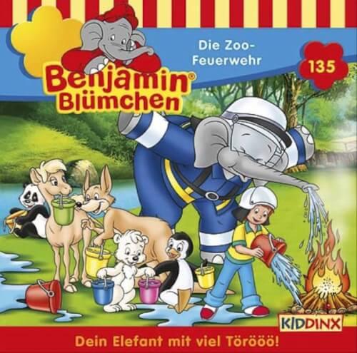 Benjamin Blümchen - Folge 135: Die Zoo-Feuerwehr (CD)