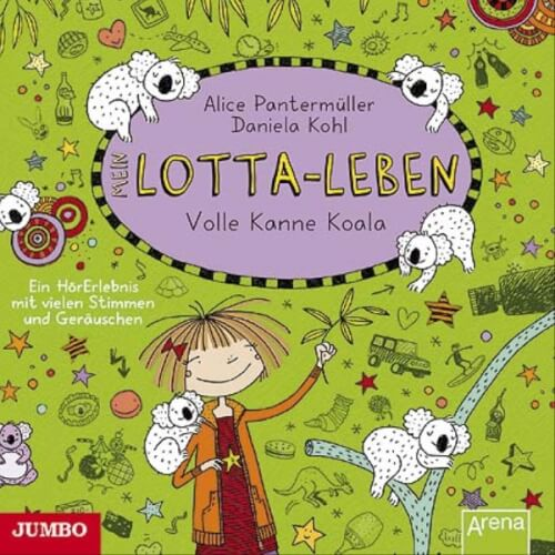 CD Mein Lotta-Leben - Volle Kanne Koala, 1 Audio-CD