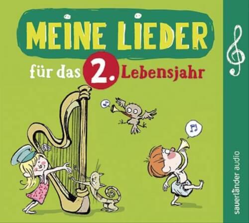 CD Lieder f.d. 2. Lebensjahr