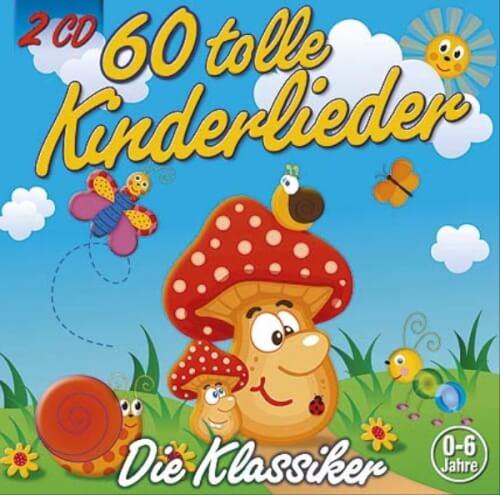 CD 60 tolle Kinderlieder