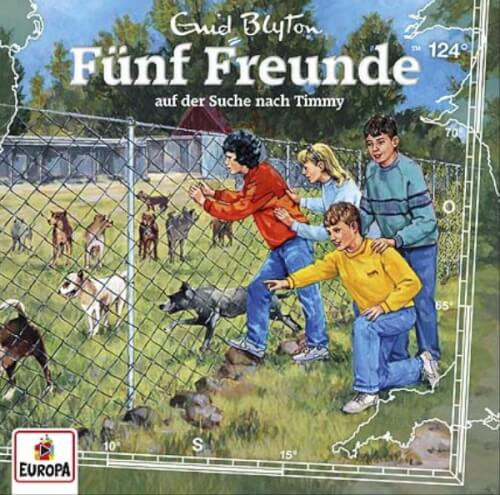 Fünf Freunde - Folge 124: Suche nach Timmy (CD)