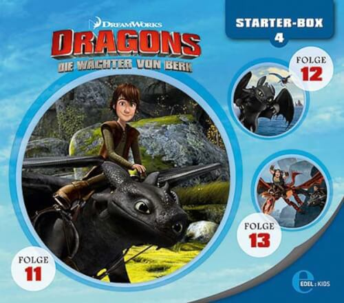 Dragons - Starter-Box Nr. 4 (CD, 6 Hörspiele)