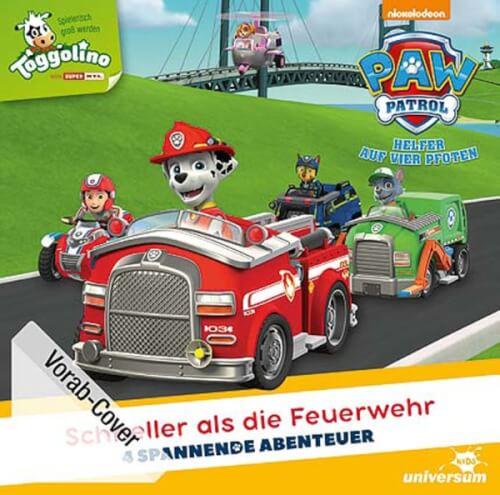 Paw Patrol - Folge 4: Schneller als die Feuerwehr / # (CD)