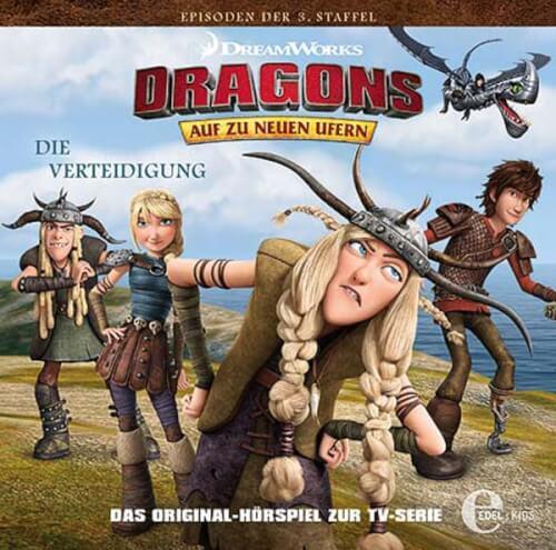 Dragons - Folge 30: Die Verteidigung (CD)