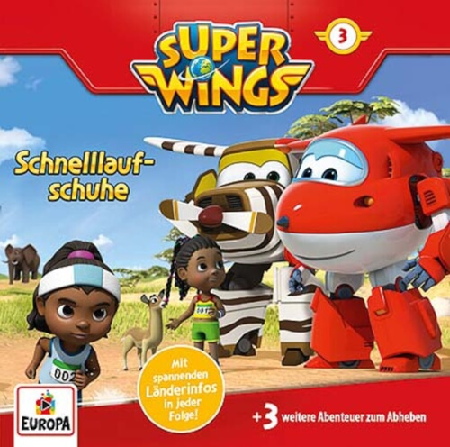 CD Super Wings 3: Schuhe