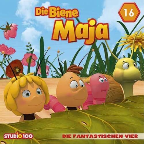 Biene Maja - Folge 16: Die fantastischen Vier (Hörspiel-CD zur CGI-TV-Serie)