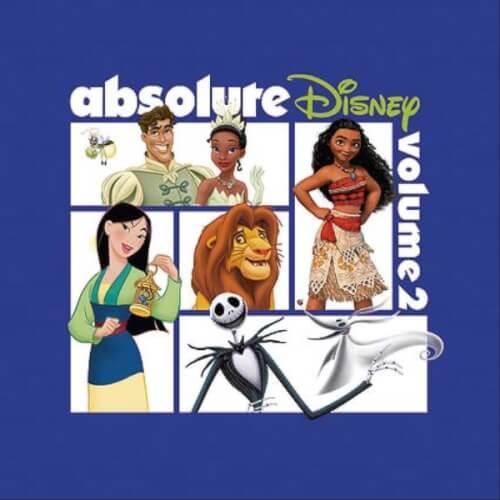 CD Absolute Disney 2