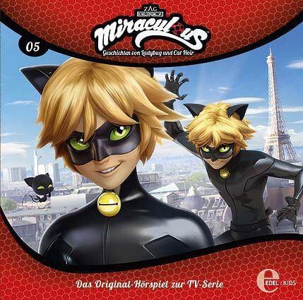 Miraculous  - Geschichten von Ladybug und Cat Noir, Folge 5: Der Betrüger, CD, ab 5 Jahre