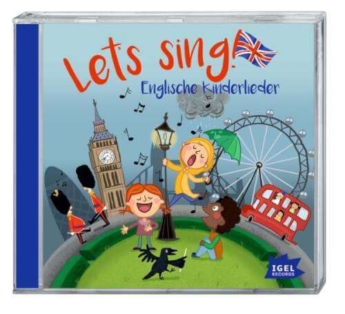 CD Lets sing! Englische Kinderlieder CD