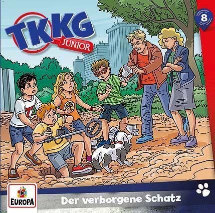 Kosmos CD TKKG Junior 08 Der verborgene Schatz