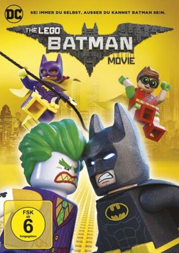 DVD LEGO Batman The Movie